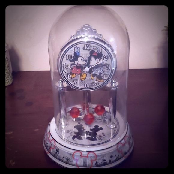 Mickey and Minnie anniversary clock
